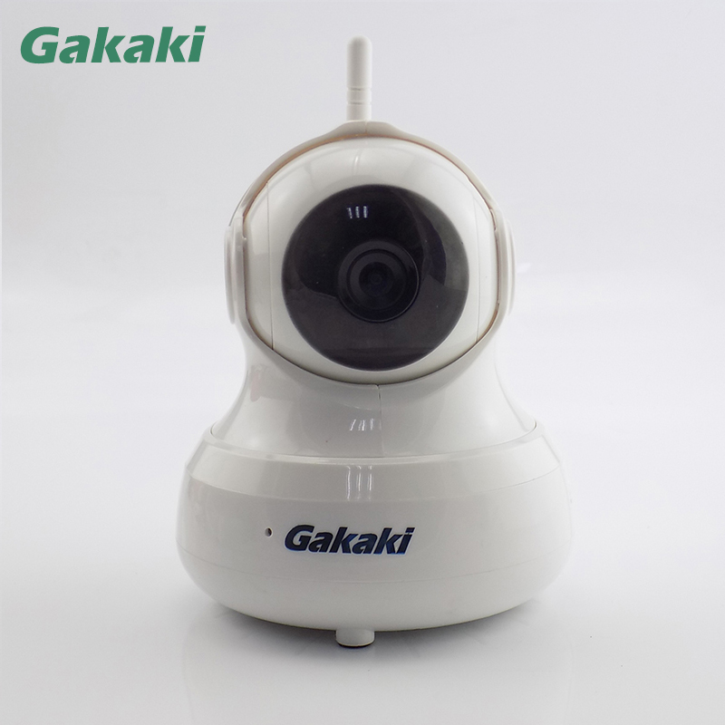 Gakaki WIFI Indoor HD Wireless IP Camera Night Vision Home Security Surveillance Camera P2P Network Baby Monitor CCTV Camera gakaki hd wifi ip camera baby monitor p2p wireless network surveillance night vision cctv camera support motion detection alarm