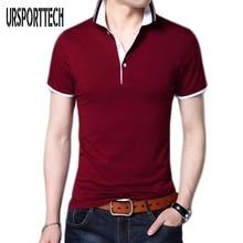 2017 Summer Classic Brand Men shirt Men Slim Fit Polo Shirt Short Sleeve Polos Shirts T Designer Polo Shirt Plus Size 4XL