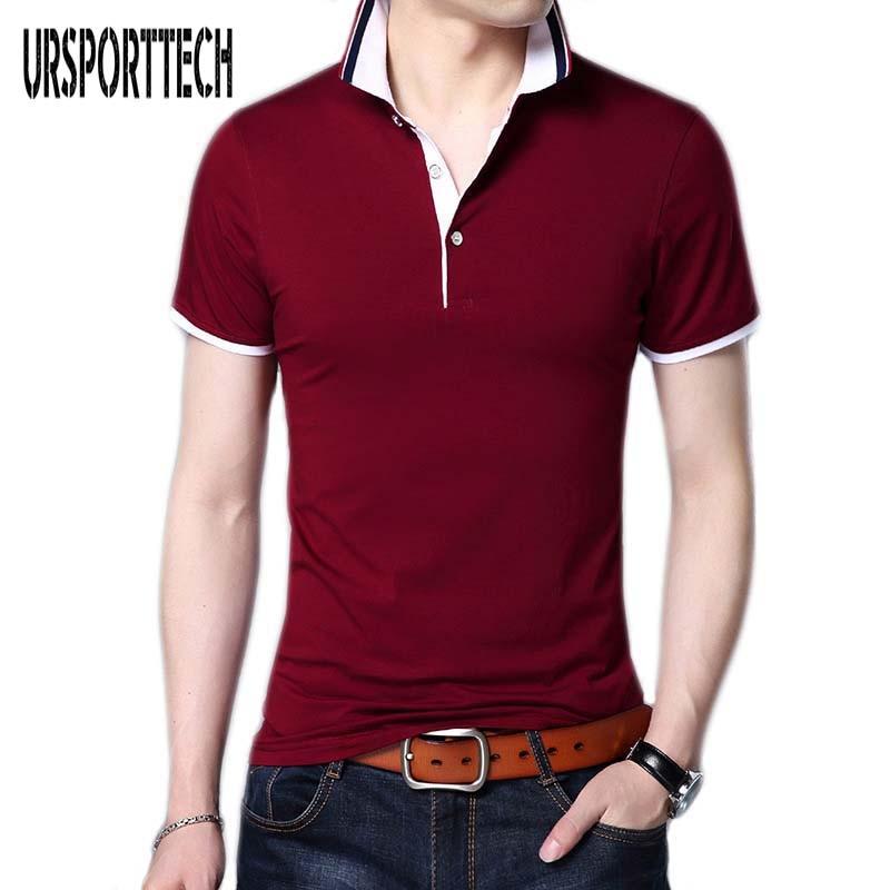 2019 Summer Classic Brand Men shirt Men Slim Fit   Polo   Shirt Short Sleeve   Polos   Shirts T Designer   Polo   Shirt Plus Size 4XL