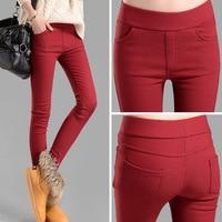 Winter New Han Edition Plus Velvet Leggings Increasing Female Cultivate One S Morality Show Thin Leg