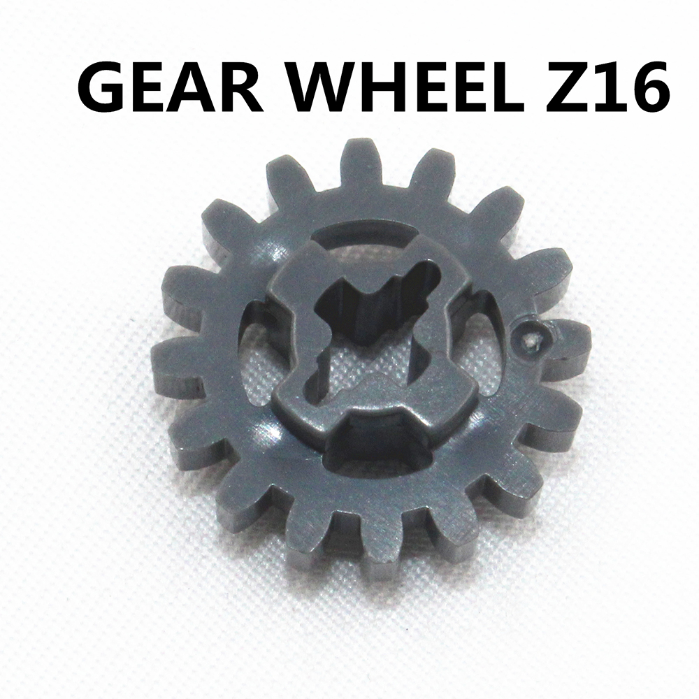 Self-Locking Bricks Free Creation Of Toy Technic GEAR WHEEL Z16 20Pcs Compatible With Lego NOC4640536
