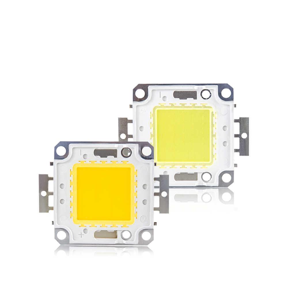COB LED Chip DC 12V 36V lámpara 3W 10W 20W 30W 50W 100W Chips para reflectores de luz de jardín Reflector LED integrado