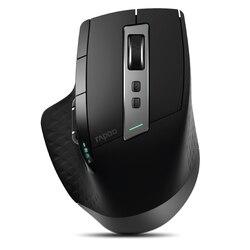 Rapoo MT750S akumulatorowa mysz bezprzewodowa multi-mode przełącz między Bluetooth i 2.4G dla 4 urządzeń podłącz myszy z komputera/tabletu
