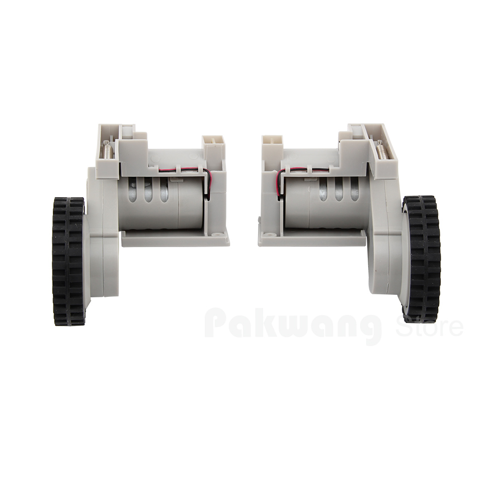 Robot vacuum cleaner XR210 Spare Parts Left Wheel 1 pc & Right Wheel 1 pc xr510 robot vacuum cleaner spare parts right wheel and left wheel