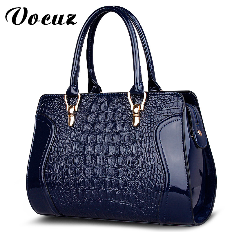 2017 Rushed New Arrival Interior Compartment Alligator Large Capacity Good Quality Women Handbag Leather Bag Messenger Bags