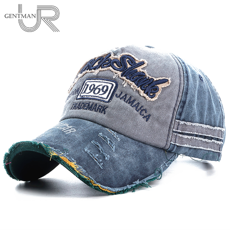 Unisex Washed Denim Baseball Cap High Quality Snapback Hats Summer Hat Cap For Men Women 1969 Letter Dad Hat Wholesale Gorras fashion printed skullies high quality autumn and winter printed beanie hats for men brand designer hats