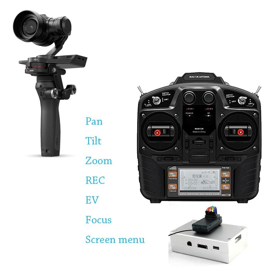 POWERKAM OSMORIDER PRO RC remote control system for DJI X5 including PAN,TILT,ZOOM,REC,MENU,EV,FOCUS