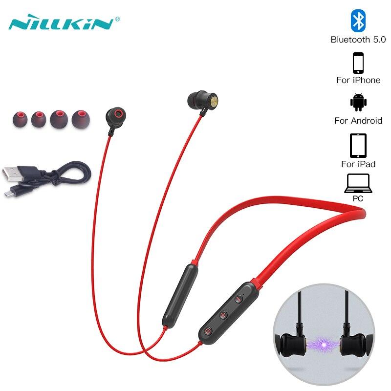 Bluetooth 5 0 Earphones Nillkin Go Tws Wireless In Ear Earphone Handsfree Waterproof Sports Bluetooth Earbuds Gaming Headset Bluetooth Earphones Headphones Aliexpress