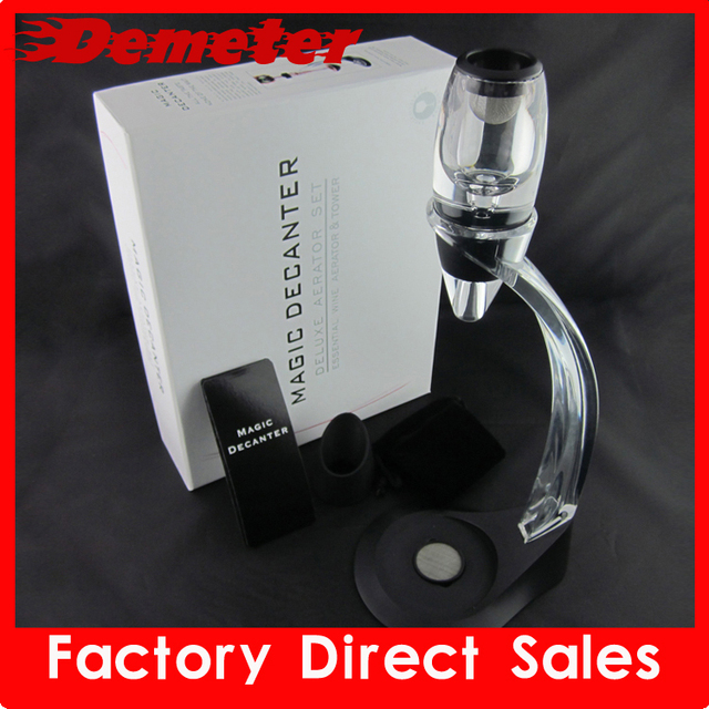 ZK F320 wine decanter aerator device set deluxe package wine bar waiter's friends new year gift free shipping