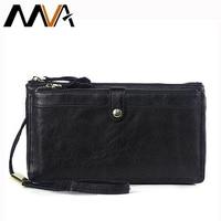 New Desigual Men Wallets Black Coffee Men S Clutch Bag Genuine Leather Purse Male Long Wallet