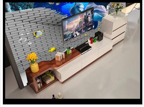 Купить с кэшбэком Custom photo wallpapers 3D murals underwater world dolphin living room TV background wall interior painting mural wall papers
