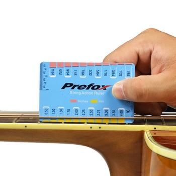 1 قطعة سلسلة الغيتار مقياس العمل سلسلة خطوة حاكم أداة قياس لباس الكلاسيكية الكهربائية الصوتية الغيتار أدوات أجزاء الحكام