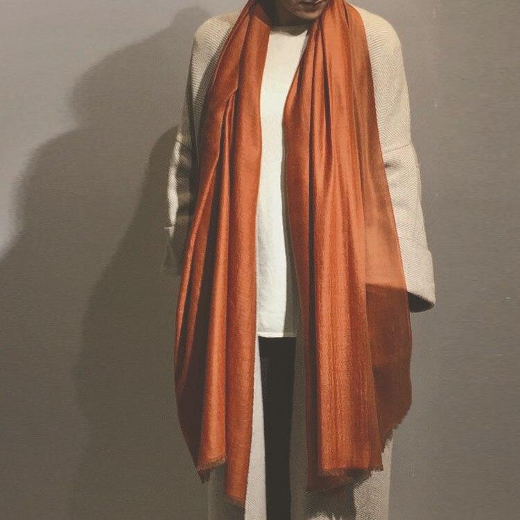 100% козья шерсть, кашемир, женская мода, сатин, зерно, шарфы, шаль, Пашмина 100x200 см, маленькая кисточка, розничная продажа, смешанные, оптом