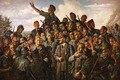Адольф и Солдаты Paintingt Искусство Плаката Декора Печати Холст Искусства