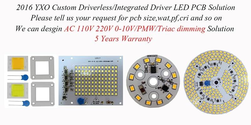 custom driverless pcb
