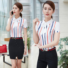 0c69e80d6fe7 Formal OL Styles Professional Summer Short Sleeve Work Wear Skirt Suits  With 2 Piece Tops And Skirt Ladies Office Outfits S-3XL