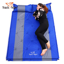 2 Person Automatic Inflatable Mattress Beach Cushion Outdoor Camping Self Driving Car Sex Mat Hiking Cycling Anti Moisture Pad(China)