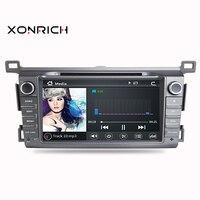 Autoradio 2 din Car DVD Player GPS Navigation Multimedia For Toyota RAV4 Rav 4 2013 2014 2015 Head Unit Stereo