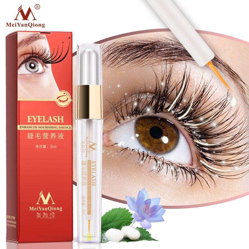 Kräuter Wimpern Wachstum Behandlungen Flüssigkeit Serum Enhancer Wimpern Länger Dicker Besser als Wimpernverlängerung Leistungsstarke Make-Up