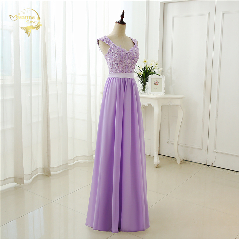 Robe De Soiree Cap Sleeve Lang Formell Kjole 2019 Abendkleider - Spesielle anledninger kjoler - Bilde 4