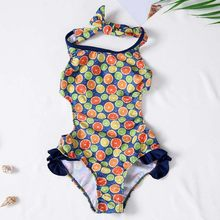 Summer girls one-piece swimsuit children's clothing girls cartoon swimwear summer swimwear beachwear swimsuit(China)