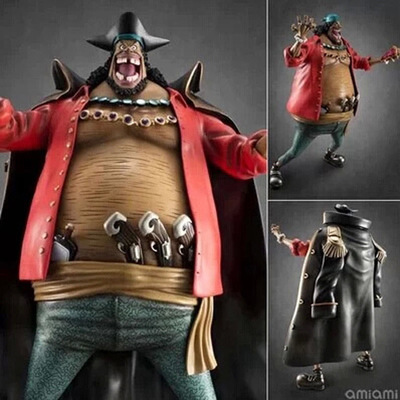 8.5 Inch One Piece Black <font><b>Beard</b></font> Action Figure Marshall D Teach Doll PVC figure Toy Brinquedos Anime 22CM image