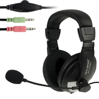 OVLENG OV L750MV Universal Stereo Go Pro Headphones With Mic And Volume Control Key For Computer