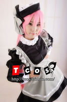 Free Shipping Newest Pita Ten Misha Black Angel Outfit Cosplay Costume Perfect Custom For You