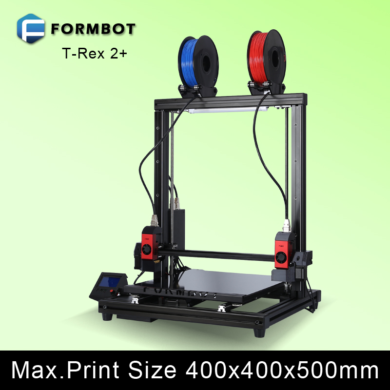 Large 3D printer Building Size 400*400*500 High Resolution 0.05mm Layer Thickness Support Laser Engraving Function 3 d printer