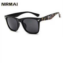 NIRMAI High Quality Sunglasses Men Women Brand Designer Glasses Mirror Sun Glasses Fashion Gafas Oculos De Sol UV400 Classic lowest price high quality metal frames oculos de sol sun glasses men sunglasses brand designer gafas feminino eye glasses 905