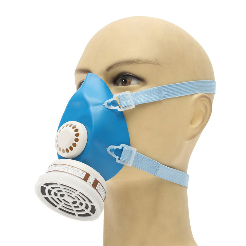Self-priming Filter Type Antivirus Protect Mask Prevent Harmful Gas Face Safely Security ...