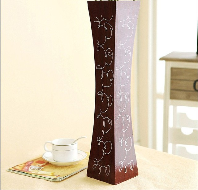 Melamine wood vase spendthrift simulation flowers to flower vase tall flower drawing flower : tall flowers for vases - startupinsights.org