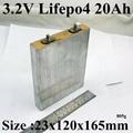 1 шт. образец 23120165 3.2 В 20Ah lifepo4 батарея lifepo4 15ah 30A с высоким потреблением тока 50А Для аккумулятора diy литий power bank инструмент