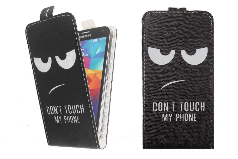 Fashion 11 Colors Cartoon Pattern Up and Down Flip PU Leather Case For ZTE  Hawkeye - us710 f0b77dff3b721