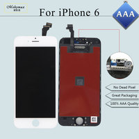 Mobymax 100 Test Works AAA Quality LCD For IPhone 6 LCD Display Touch Screen Digitizer LCD
