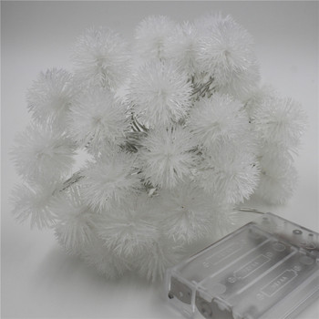 Snow Flakes Battery LED String Parties Lights