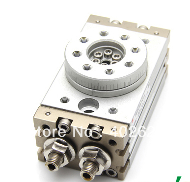 SMC Type Cylinder MSQB 20A Rotary Table/ Rack-and-Pinion Type Bore size:18mm Accept custom, AIr cylinder, SMC cylinder, type msqb10a smc 20a 30a rotary table msqb50r 90 degree 180 degree hrq20 rotary cylinder