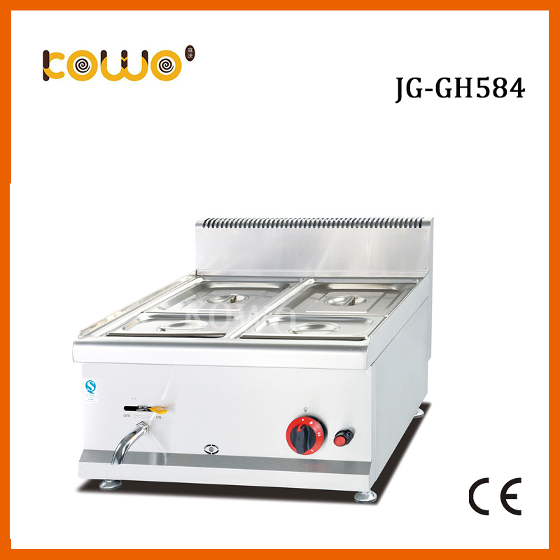 4 pans stainless steel kitchen lpg gas food warmer buffet soup bain marie catering food display warmer food processor цена