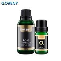 Rose Essential Oil 30ML Rosemary Essential Oil 10ML
