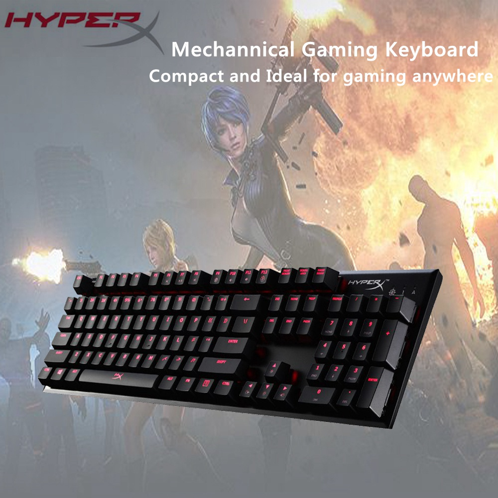 ee04c97f3f2 Original Kingston HyperX Alloy FPS Mechanical Keyboard Gaming Keyboard  CHERRY MX Mechanical Keys Teclado Mecanico