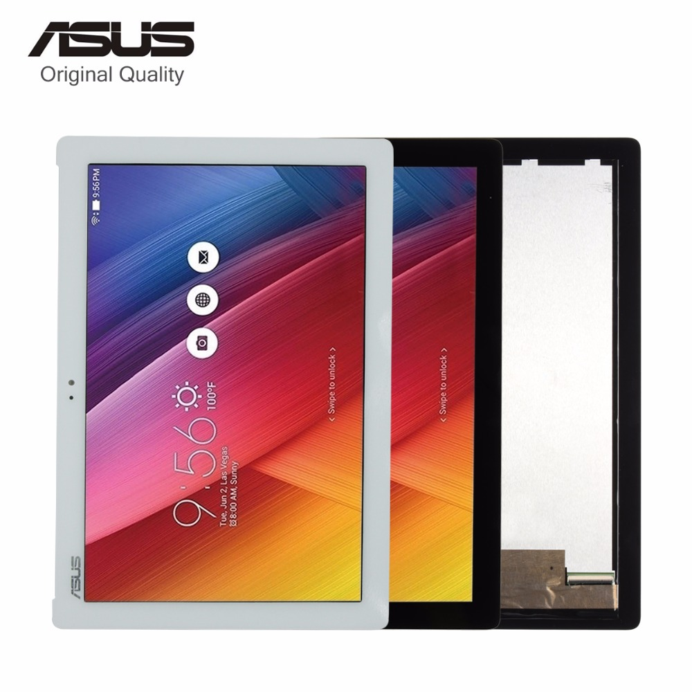 For ASUS Zenpad Z300C Z300 LCD Display Matrix Screen With Touch Screen Digitizer Glass Sensor Full Assembly Replacement Parts for zte blade a601 ba601 lcd display with touch screen digitizer sensor full assembly 5 0 inch black replacement parts