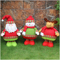 New Merry Christmas Party Santa Claus / Snowman / Elk Christmas Gift Dolls Ornaments Home Decorations For Kids/Friends