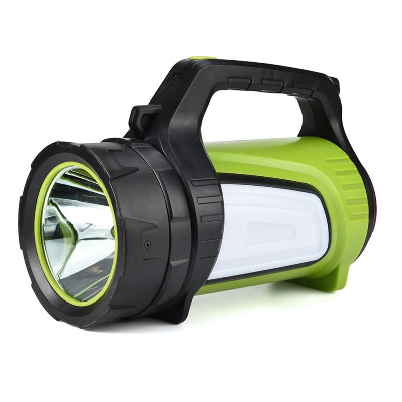 New release!Flashlight on Bicycle Rechargeable LED Lantern Flashlight 10 Modes Multifunction Portable Searchlight for Cycling #^