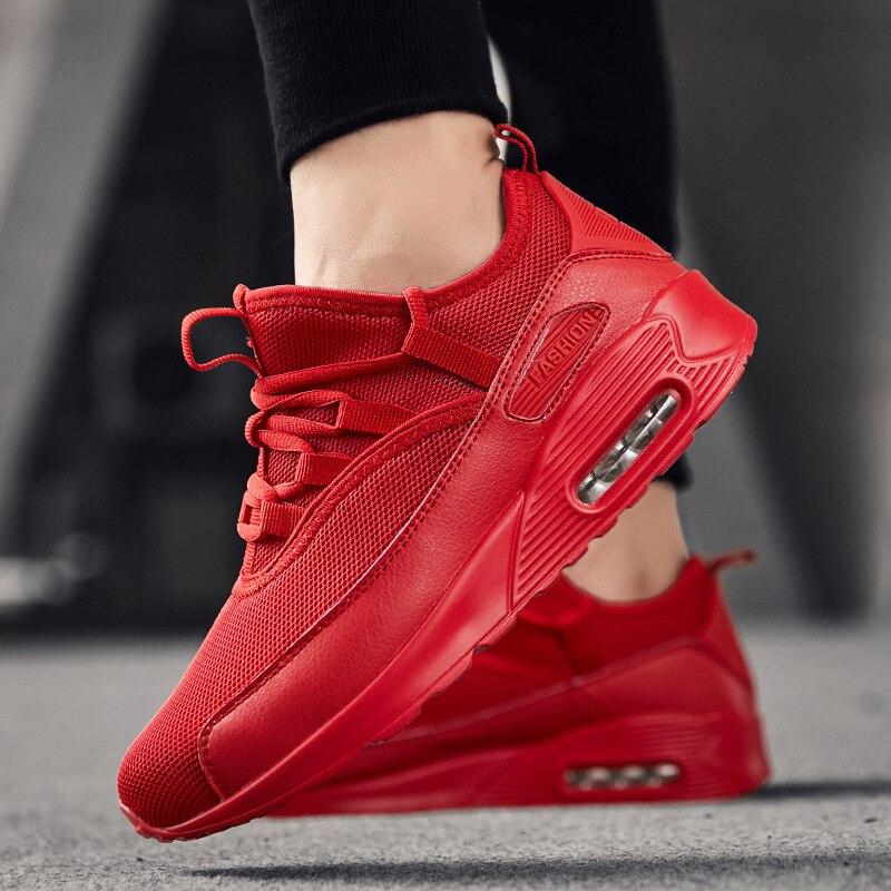 Malla Deportes blanco Casuales rojo Negro Zapatos Moda De Ropa Nuevos 2019 Los Verano Hombres Transpirable verde awE0Y