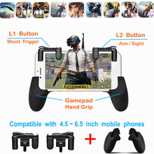 PUBG Mobile Game Pad Controller with L1 R1 Triggers PUGB Phone Gamepad L1R1 Buttons Shooting Gaming Gamepads for iPhone Android