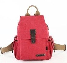 Новая Мода Холст сумка женская ретро Колледж школьный ноутбук рюкзаки Случайный рюкзак 1075
