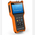 New 4 inch four in one HD combine CCTV tester monitor  AHD TVI CVI analog camera tester PTZ control audio testing 12V output