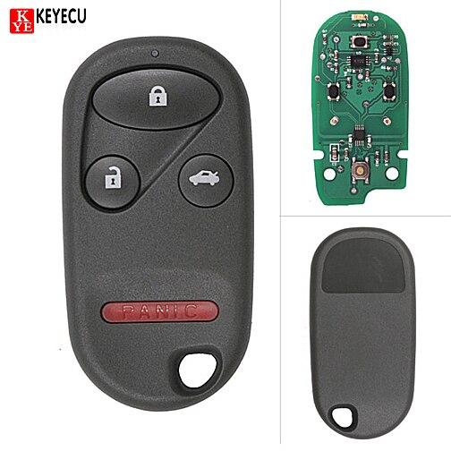 KEYECU New Smart Remote Car Key Fob For 2000 2002 Honda