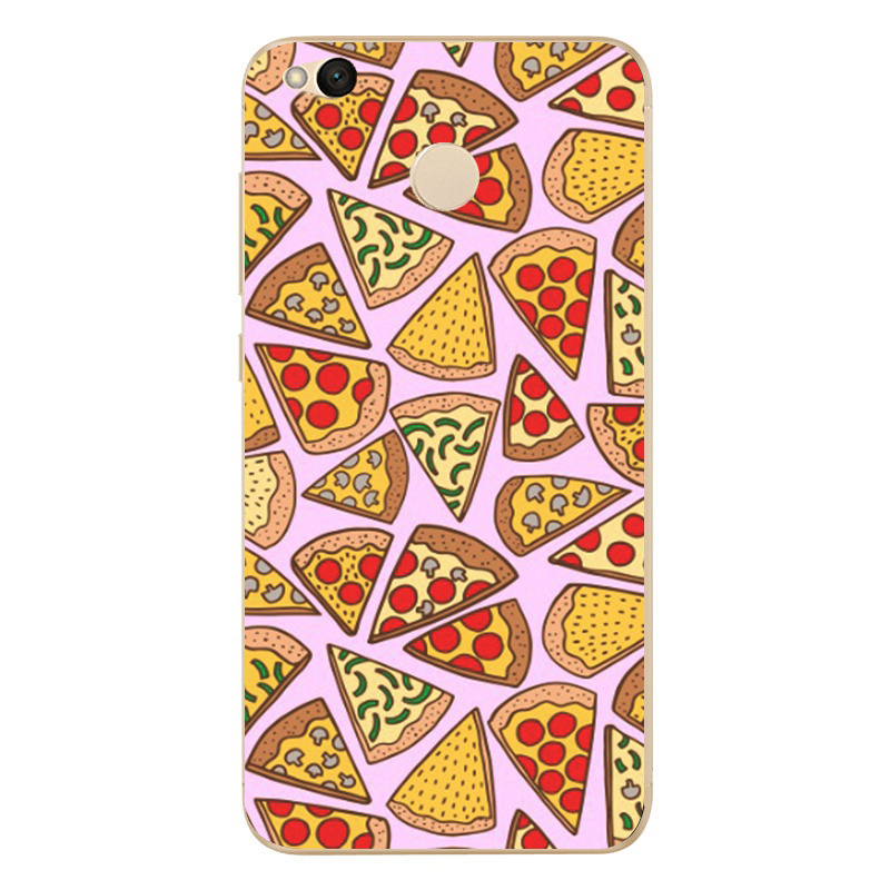 For Xiaomi Redmi 4X Hongmi 4 x Phone Case Cute Colorful Soft TPU Silicone Phone protective Cover <font><b>0562</b></font> image