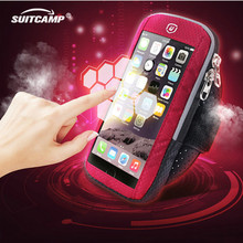 Running bags Sports Exercise Running Gym Armband Pouch Holder Case Bag for Cell Phone Touch Screen Arm Bag 4-6 Inch